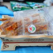 内蒙古特产休闲零食牛板筋200g装香辣味三袋包邮