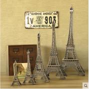 巴黎铁塔金属软装饰品办公室摆件家居客厅摆设现代创意工艺品复古