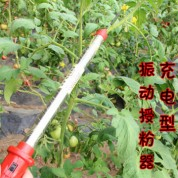 前窗锂电型番茄电动授粉器 温室大棚蔬菜西红柿电动授粉点花机器