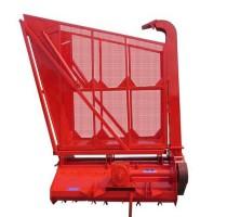 小型玉米青储机视频 拖拉机带玉米秸秆青储机